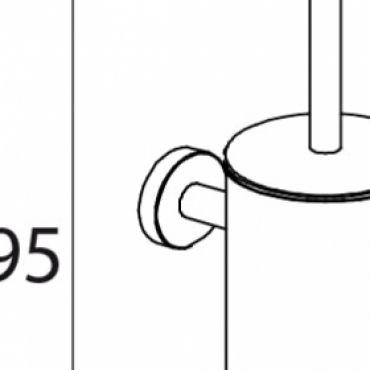 Foto van WC borstelgarnituur