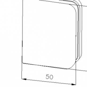 Foto van Vijfhoek cabine dubbele deur