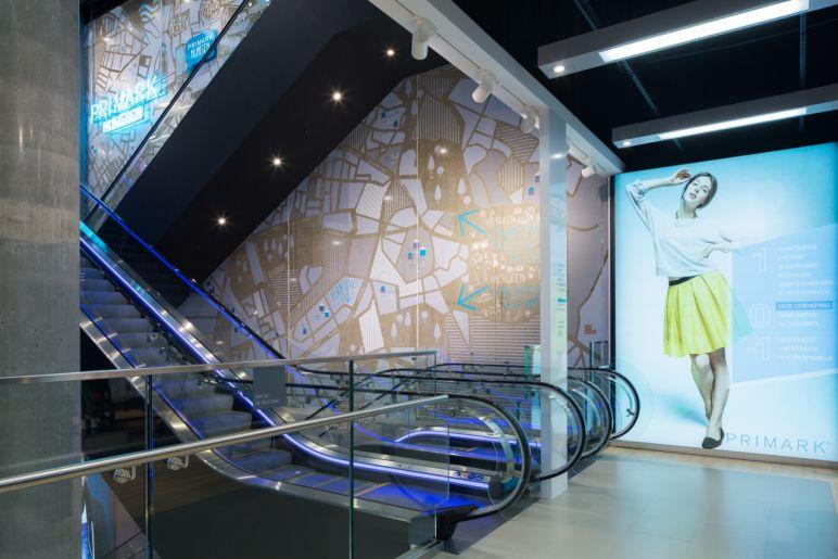 Afbeelding van Grote winkelketen - Balustrades & Scheidingswanden